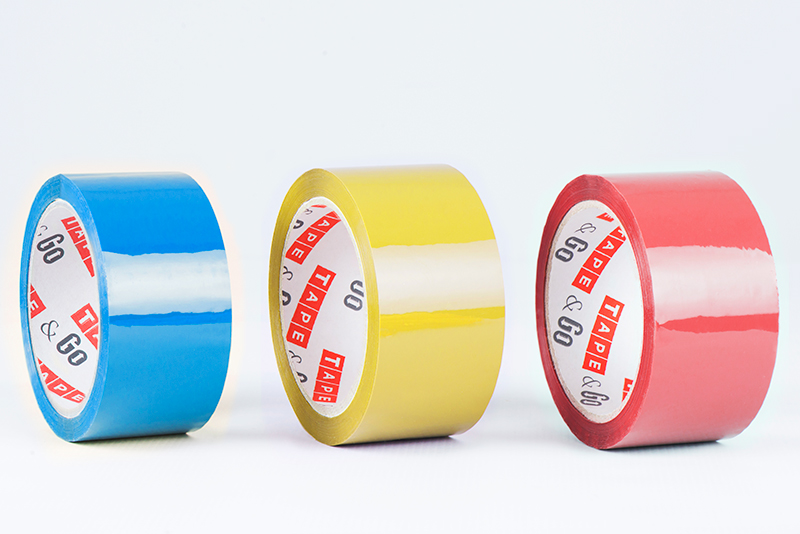 PVC sealing tapes in green, blue, red and yellow color, 37μm and 39μm